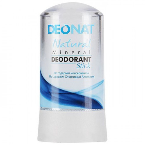 Минеральный дезодорант   ЧИСТЫЙ RELAX    кристалл   60g DeoNat
